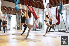 Group Class - DandA Flying yoga - Aerial Yoga - Los Angeles