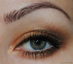 Urban Decay Vegan Palette Eye Make Up Look