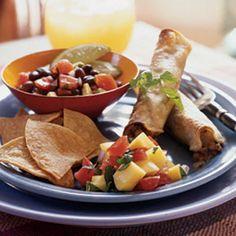 Vegetarian Taquitos #vegetarian