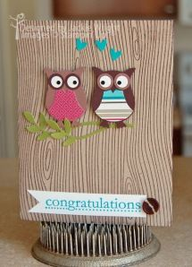 anniversary card with owls 2