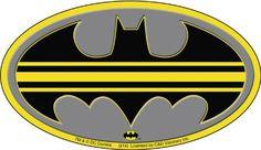 BESTSELLER! Batman DC Comics Striped Logo Sticker $3.99