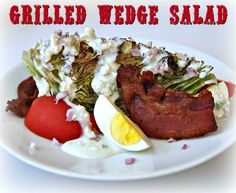 Make a Grilled Wedge Salad That%u2019s Hearty Enough for Dinner #Spon