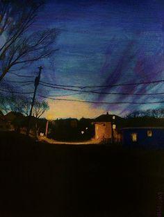 """""""Nightscape #2"""" by Lauren W. Scotto"""