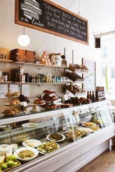 Nice bistro decoration l Cafe l Hospitality l Coffee Shop Cafe Bar, Deli Cafe, Cafe Bistro, Bakery Cafe, Deli Shop, Cafe Shop, Deco Restaurant, Restaurant Design, Modern Restaurant