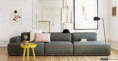 Un canapé modulable et design à moins de 2 000 euros Muuto