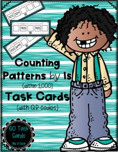 Looking for a fun and interactive way for students to practice skip counting by 1s within 1,000?  On each task card, students are provided with two numbers and a set of directions.  Students will start with the given numbers and either count forward or backward by ones, writing the three missing numbers.