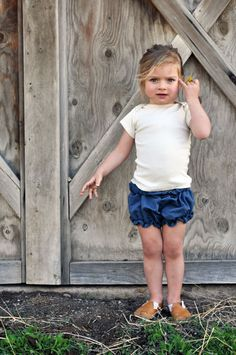 Linen Jersey Tee by Mabo // i do hope i have a little girl to dress up someday.