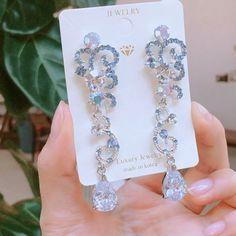 Ear Jewelry, Cute Jewelry, Bling Jewelry, Jewelery, Jewelry Accessories, Korean Jewelry, Korean Earrings, Fashion Earrings, Fashion Jewelry