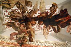 Valdés Leal.Apoteosis de la cruz. Bóveda de la iglesia de los Venerables - 1690