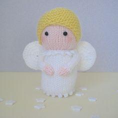 Angel knitting pattern by Amanda Berry