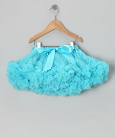 Take a look at this Turquoise Pettiskirt - Toddler & Girls by Born Posh on #zulily today!