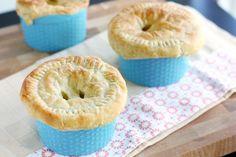 Vegetarian Pot Pies at Not A Leaf