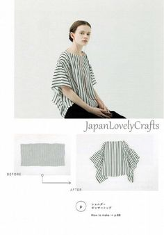 Japanese style Stylish dress Patterns, Japanese Sewing pattern Book for Simple & Easy Outfit Clothing, Sewing Tutorial for pullover tops Beginner Sewing Patterns, Japanese Sewing Patterns, Sewing Patterns For Kids, Bag Patterns To Sew, Dress Sewing Patterns, Vintage Sewing Patterns, Beginners Sewing, Sewing Tutorials, Simple Dress Pattern