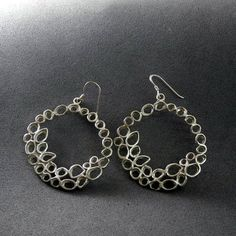 Hey, I found this really awesome Etsy listing at https://www.etsy.com/il-en/listing/197951941/large-silver-flower-earringunique-silver