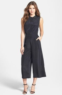 25 Stylish Jumpsuits That Are the Perfect Winter to Spring Transition - Crop Wide Leg Jumpsuit; $46.80 at nordstrom.com