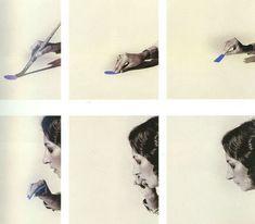 «Estudo para um enriquecimento interior» 1977-78. Helena Almeida