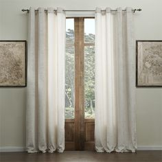 Solid Chenille Classic Eco-friendly Curtain   #curtains #decor #homedecor #homeinterior #beige