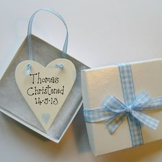 Personalised Christening Love Token from notonthehighstreet.com