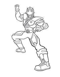 Power Rangers coloring pages power rangersuper hero party