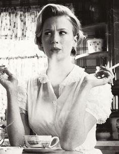 January Jones as Betty Draper, MadMen, the realest BiTK there is