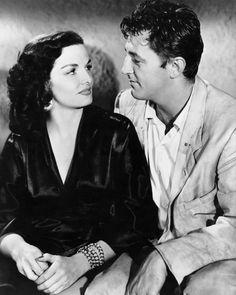 Jane Russell & Robert Mitchum