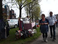 King's Day - A celebration where people go out on the streets to sell their used items to others, tax-free.  Used to celebrate the King's birthday.