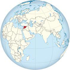 Syria on the globe (Afro-Eurasia centered).svg