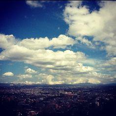 Vista panoramica de Bogota desde La Calera
