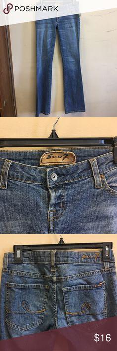 Seven7 Jeans Size 4 Low rise super stretch Seven7 Jeans Boot Cut