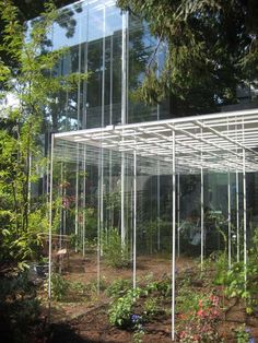 Japanese pavilion – greenhouses by Junya Ishigami.