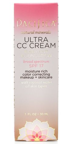 Buy Pacifica Ultra CC Cream Broad Spectrum SPF 17 from Canada at Well.ca - Free Shipping