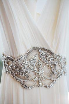 stunning wedding dress detailing | onefabday.com