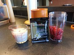 Shakeology! My healthy breakfast!