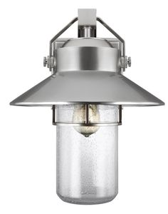 Feiss Boynton W Painted Brushed Steel Transitional Wall Sconce at Lowe's. The Feiss Boynton one light outdoor wall fixture in painted brushed steel enhances the beauty of your property, makes your home safer and more secure, and Modern Outdoor Wall Lighting, Outdoor Wall Lantern, Outdoor Wall Sconce, Outdoor Walls, Wall Sconce Lighting, Deck Lighting, Exterior Lighting, Kitchen Lighting, Small Lanterns