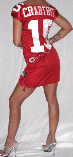 Red dress on tonight nfl