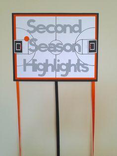 Basketball Birthday Photo Display Sign on Etsy, $14.00