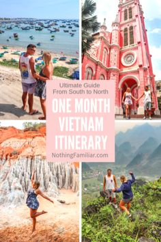 Who's ready for an epic month of exploring one of the most unique countries in Southeast Asia? Our one month Vietnam travel itinerary includes helpful information such as transportation, where to stay, and what to do in each place! Starting in the south, we'll show you how to snake your way up the coast to see all the most amazing towns, cities, and nature.