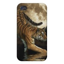 Big Cat Indian Tiger iPhone Case Cover For iPhone 4