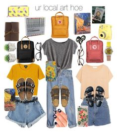ur local art hoe // my aesthetic by maddiextheresa on Polyvore...