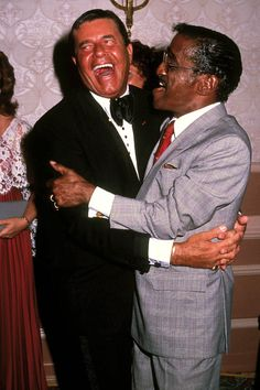"""( 2016 † IN MEMORY OF ♪♫♪♪ SAMMY DAVIS JR) - """"Jerry Lewis with his best friend † ♪♫♪♪ Samuel George Davis - Tuesday, December 08, 1925 - 5' 5'' - Harlem, Manhattan, New York City, New York, USA. Died; Wednesday, May 16, 1990 (aged of 64) - Beverly Hills, California, USA. Cause of death;(complications from throat cancer)"""