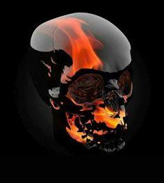 Skulls n Skeletons Panzer Tattoo, Diy Poster, Tattoo Caveira, Grim Reaper Art, Badass Skulls, Totenkopf Tattoos, Skull Pictures, Skull Artwork, Skeleton Art