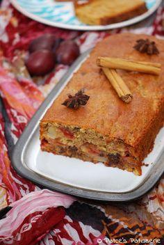 Patce's Patisserie: Saftiger Gewürzkuchen 2.0 mit Rotwein-Pflaumen & Honigkuchen. {Ach ja: Und ohne Nüsse, wo wir schon mal dabei sind}