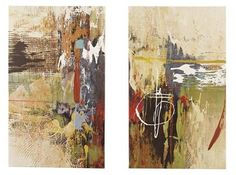 2 Bailby Multi Color Wall Arts Set