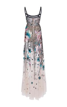 Bead Embroidered Tulle Gown by Elie Saab  82468b52cdd8a