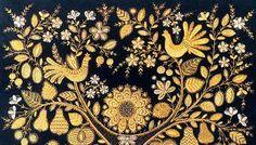 Торжокские золотошвеи. Ручная вышивка.