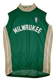 NBA Milwaukee Bucks Mens Sleeveless Away Jersey XXLarge Green ** To view further for this item, visit the image link.