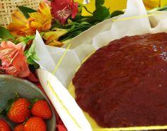 Chegando 2014 ... últimas encomendas para 2013! Cheesecake + geleia artesanal de morango :)