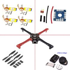 DIY Quadcopter Rack Kit Frame and GPS 2212 HP 1045 prop drone quadrocopter quadcopter ** Click the image to visit the AliExpress website Drones, Drone Quadcopter, Kit, Rack, Hobby Shop, Remote Control Toys, Drone Photography, Motor, Really Cool Stuff