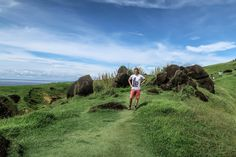 I'm enjoying Binurong Point at Catanduanes Island, in the Philippines.