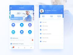 WeDoctor by Gaoss #Design Popular #Dribbble #shots